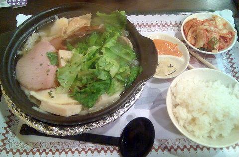 酸菜豬腳全餐